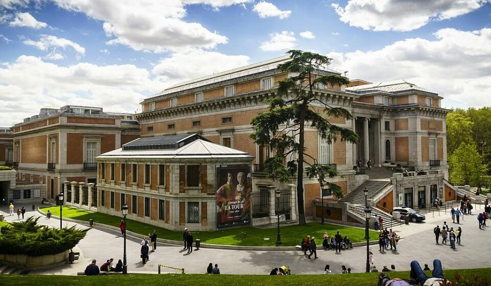 Museum Nacional do Prado, Madrid, Espanha - Mesmo aqui ao lado, em Espanha, temos o Museu Nacional do Prado. Neste museu, que tem uma das maiores coleções de arte do mundo, podemos contemplar trabalhos de nomes como: Velasquez, Goya ou El Greco. (Foto: Wikipedia).