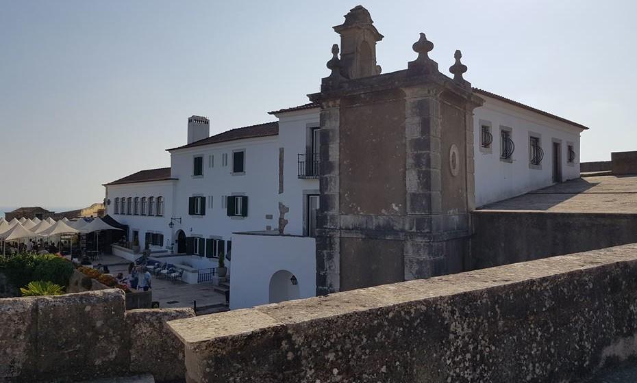 Pousada no Forte de S. Filipe, em Setúbal.