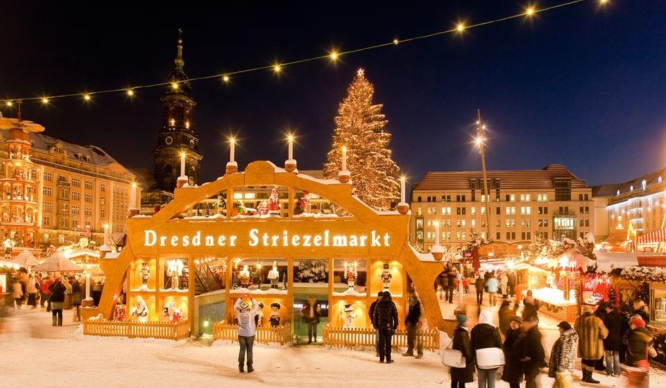 Striezelmarkt em  Dresden