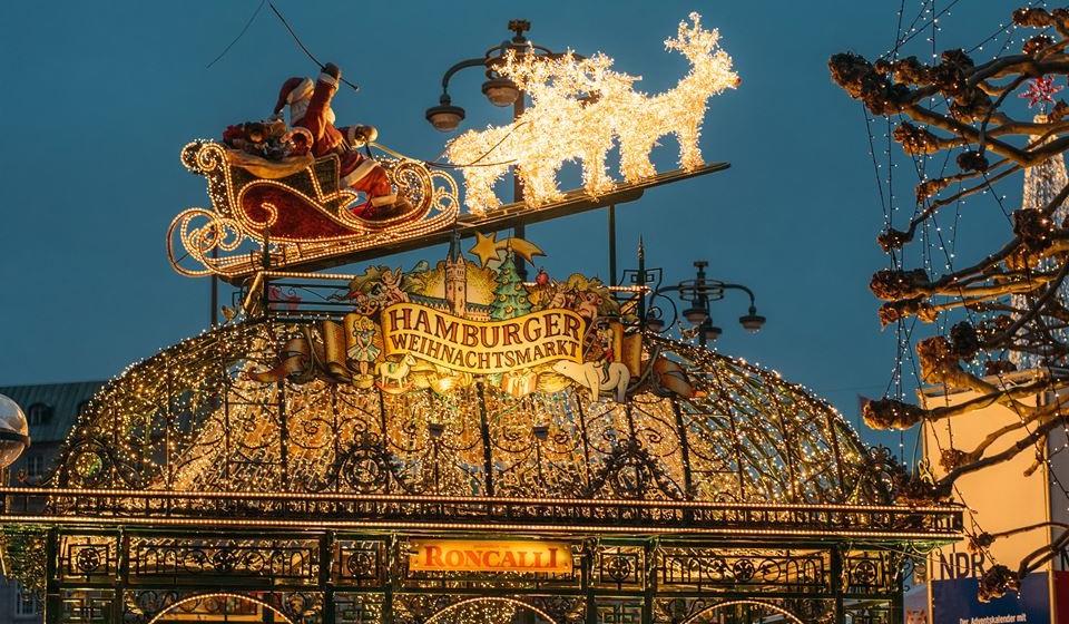 Weihnachtsmarkt em Hamburgo, foto de Geheimtipp Hamburg