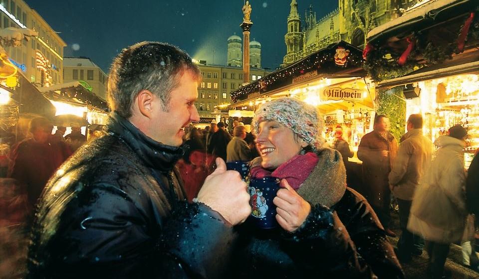 Christkindlmarkt em Munique, foto de B. Roemmelt