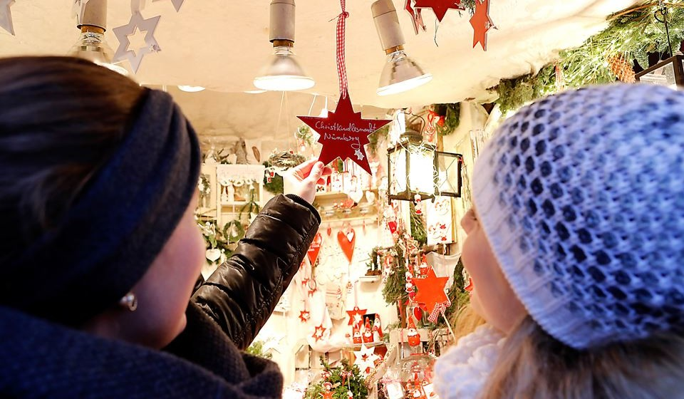 Christkindlesmarkt em Nuremberga