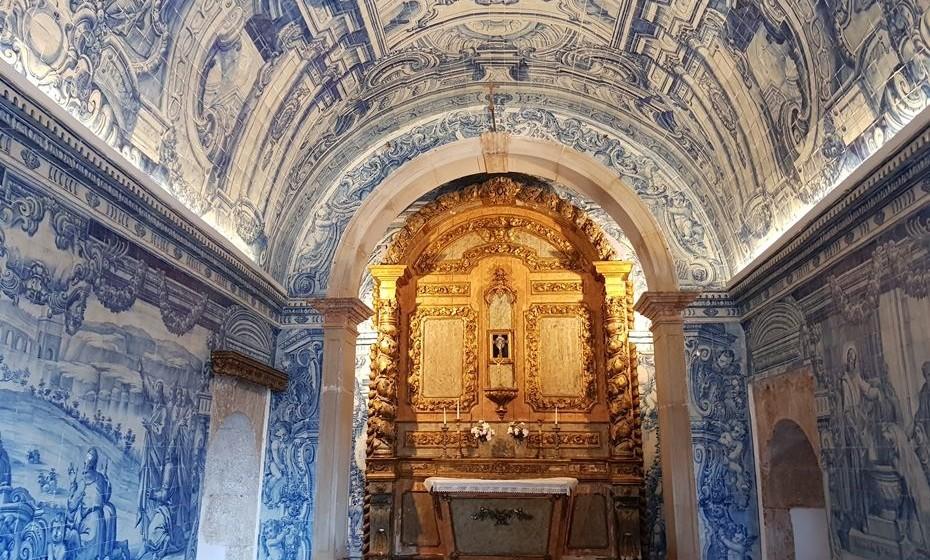 Capela de S. Filipe, no Forte de S. Filipe, em Setúbal.