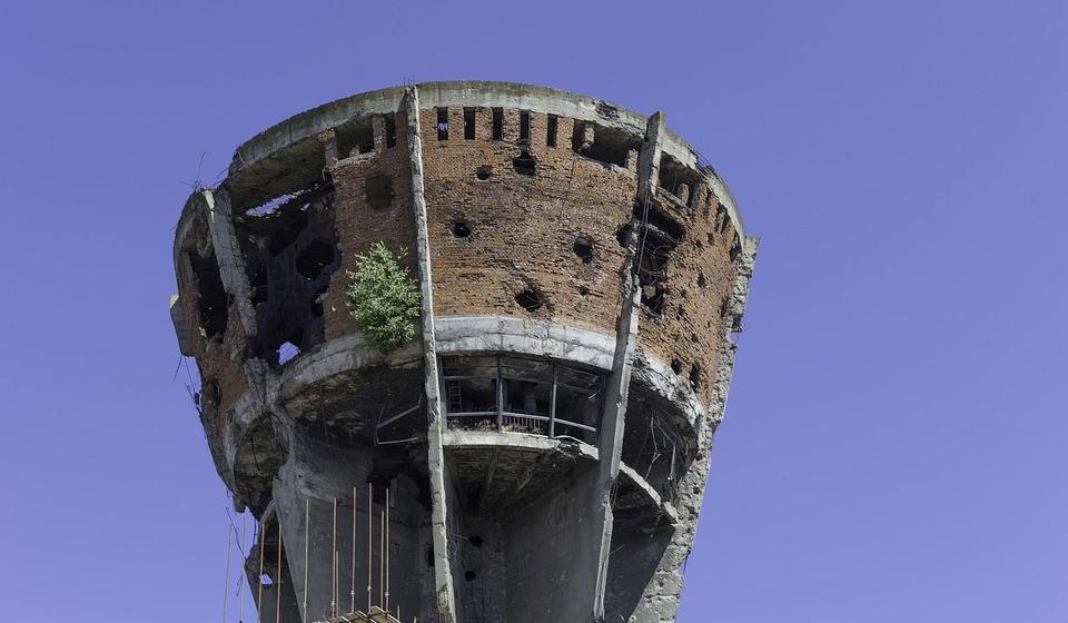 Torre de água em Vukovar