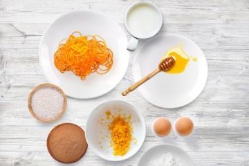 Natal fit: Sonhos de cenoura no forno