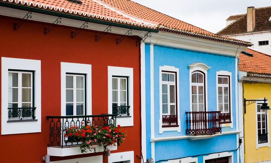 Casas típicas na Terceira