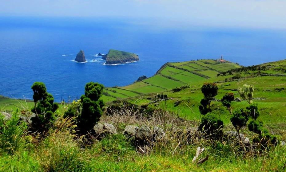 Graciosa - Vista do trilho da Caldeira. Fotos: Turismo dos Açores