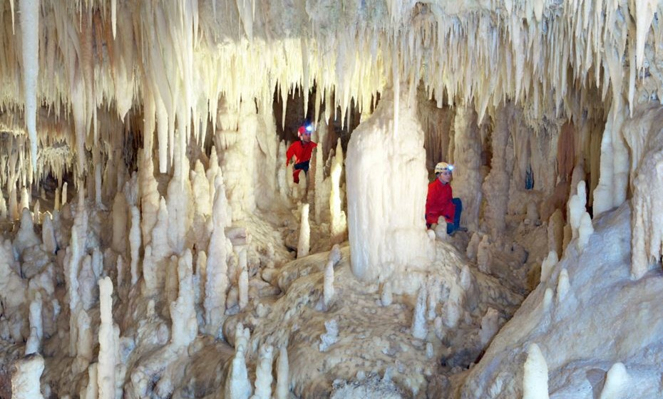 Grotte Grottabianca. Fotos: Grutas de Castelhana