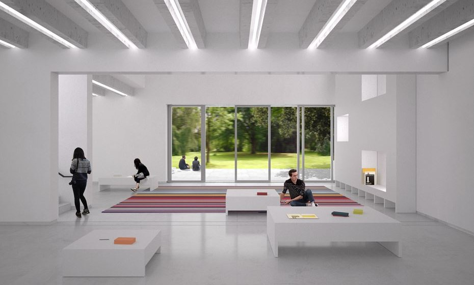 Novo Bauhaus Museum Weimar © heike hanada laboratory of art and architecture
