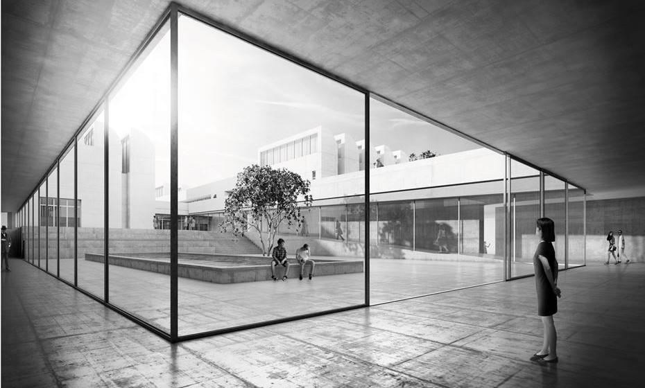 Novo edifício Bauhaus-Archiv, Berlim @ Staab-Architekten-GmbH