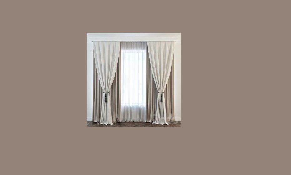 Estilo clássico para decorações de casas mais clássicas. Podemos decorar as janelas com múltiplos tecidos, fazendo portiers para as laterais e aplicar vários tipos de sirgarias, enriquecendo assim a decoração. Fonte: homemidi.com