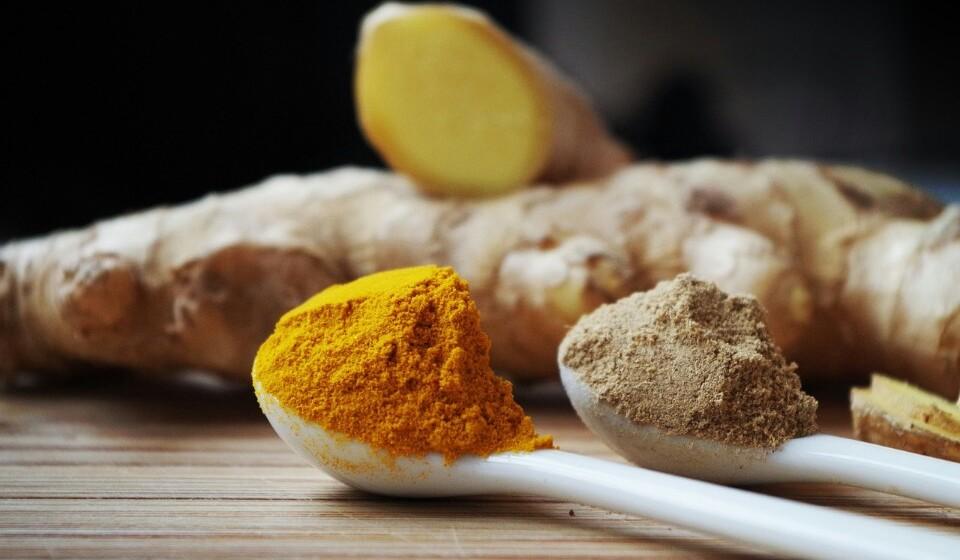 Gengibre - Este é bastante utilizado na medicina oriental pois ajuda a prevenir as náuseas e melhora a sua digestão.