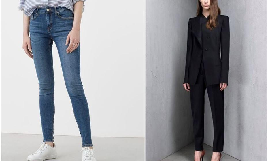 Jeans e fato