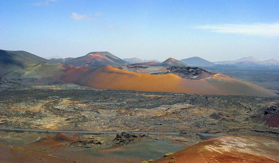 Timanfaya (Lanzarote, Espanha), paisagem de Marte na Terra