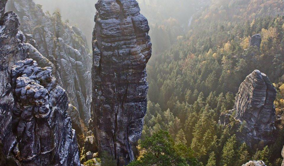 A Suíça Saxónica, para caminhantes e alpinistas (Alemanha e República Checa)