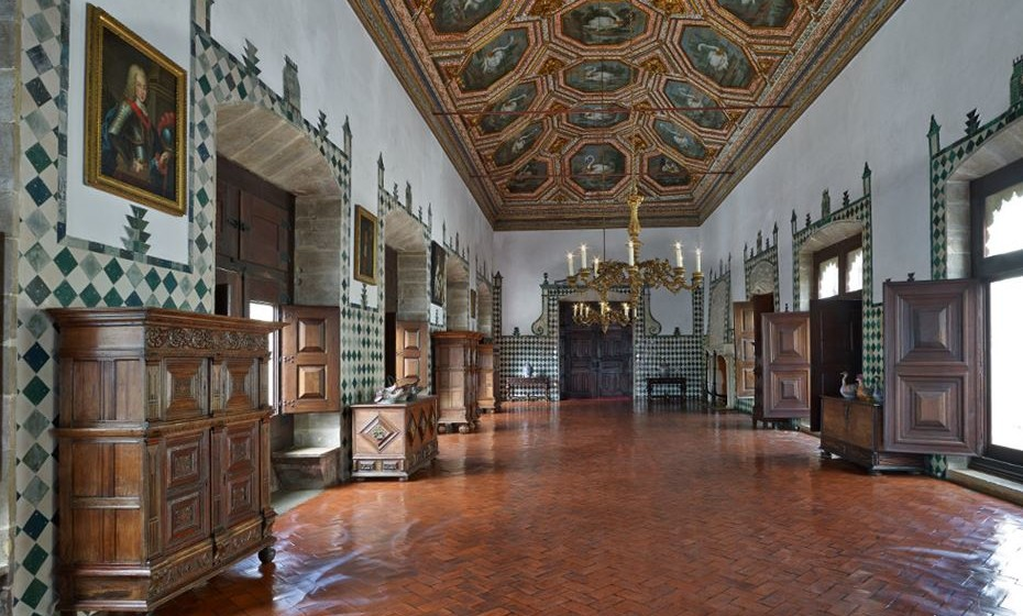 Palacio Nacional Sintra - Sala dos Cisnes. Foto: PSML - Angelo Hornak