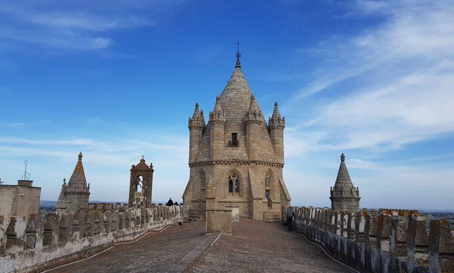 Terraço da Catedral de Évora