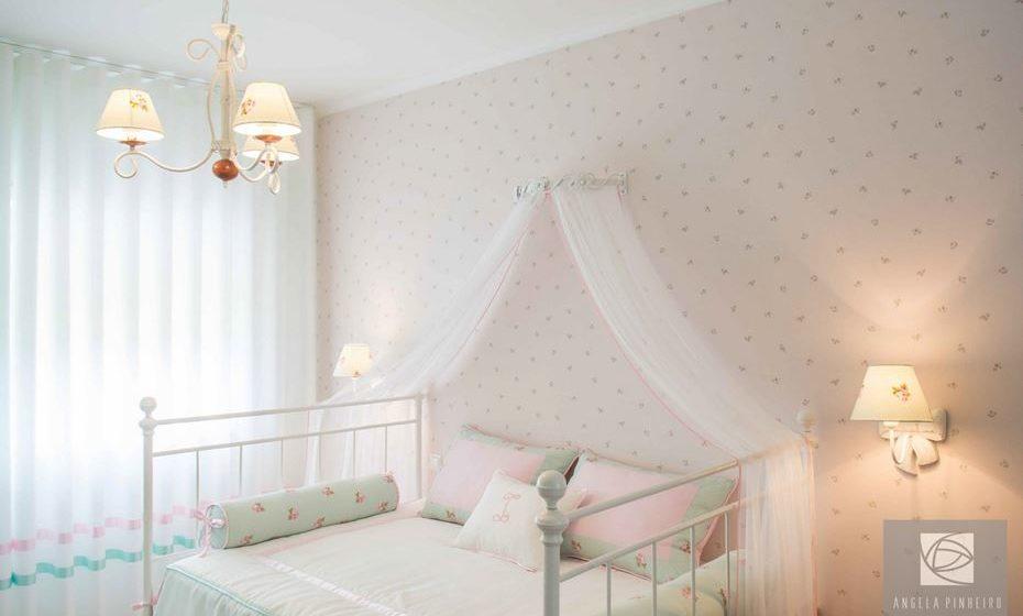 Cores claras e suaves nos quartos de crianças ficam adoráveis