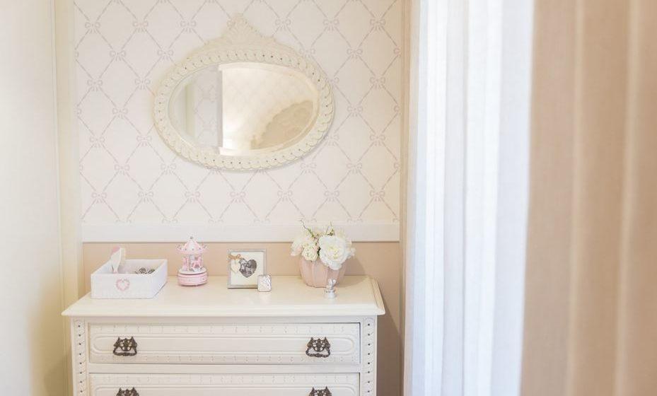 O papel de parede pode ser utilizado para criar pequenos recantos ou delimitar espaços.