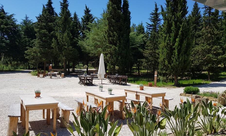 Zona exterior da Quinta dos Machados.