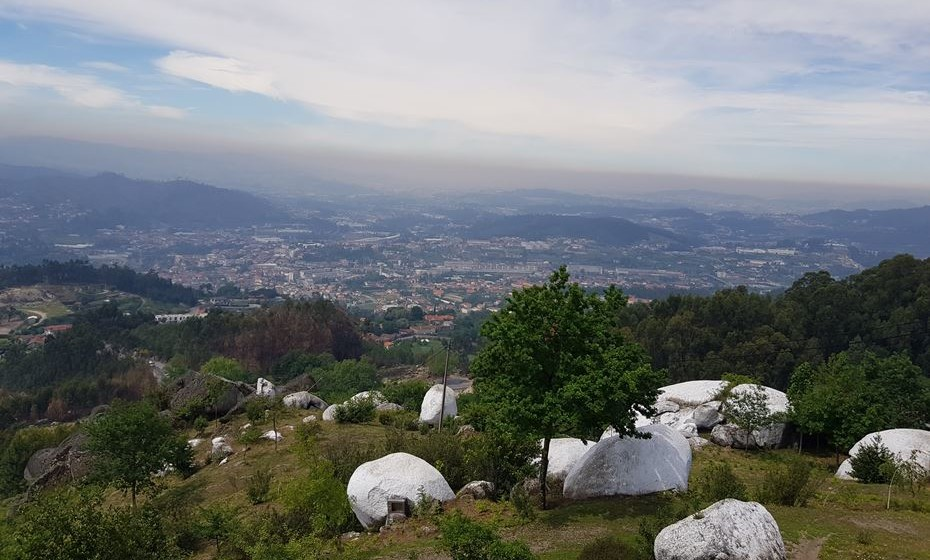Vista do Santuário.
