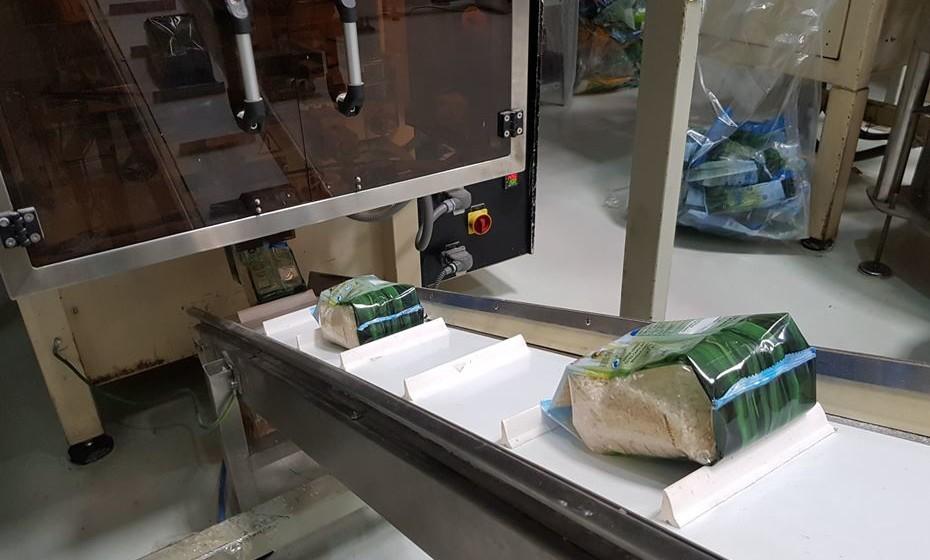 Embalamento de arroz