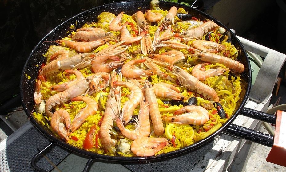 Paella, Espanha