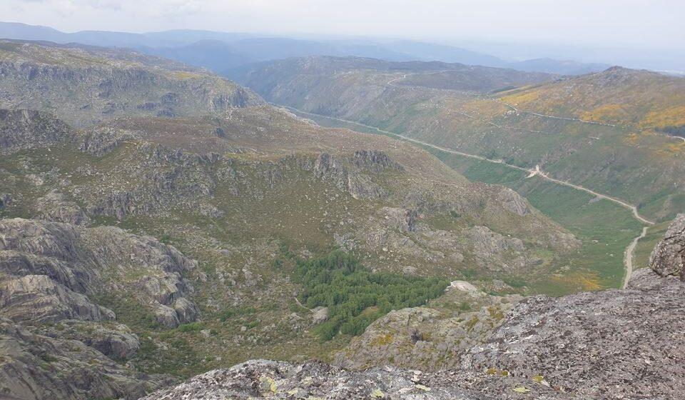 Vale glaciar do Zêzere, Serra da Estrela