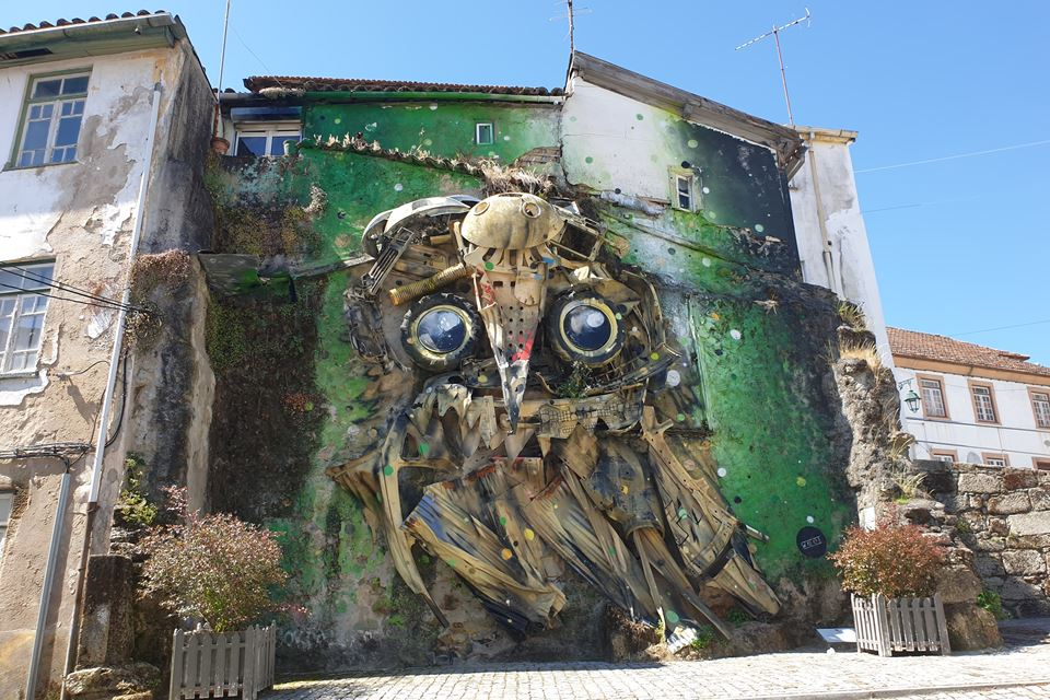 Owl Eyes, Bordallo II, 2014, Covilhã