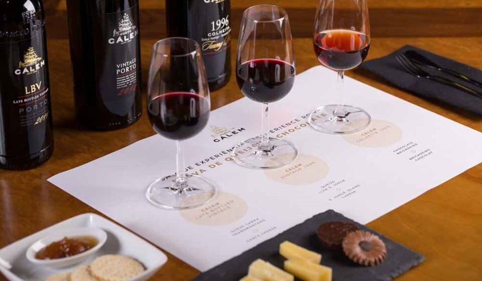 Pairing de vinhos, queijo e chocolate