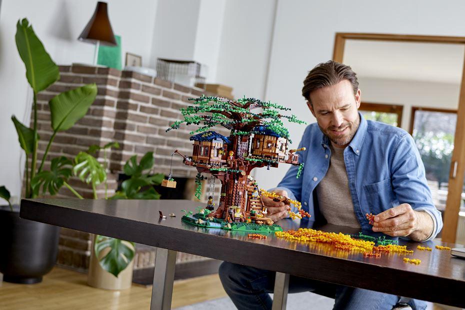 A Casa da Árvore LEGO