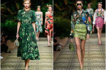 Dolce & Gabbana Goes Tropical