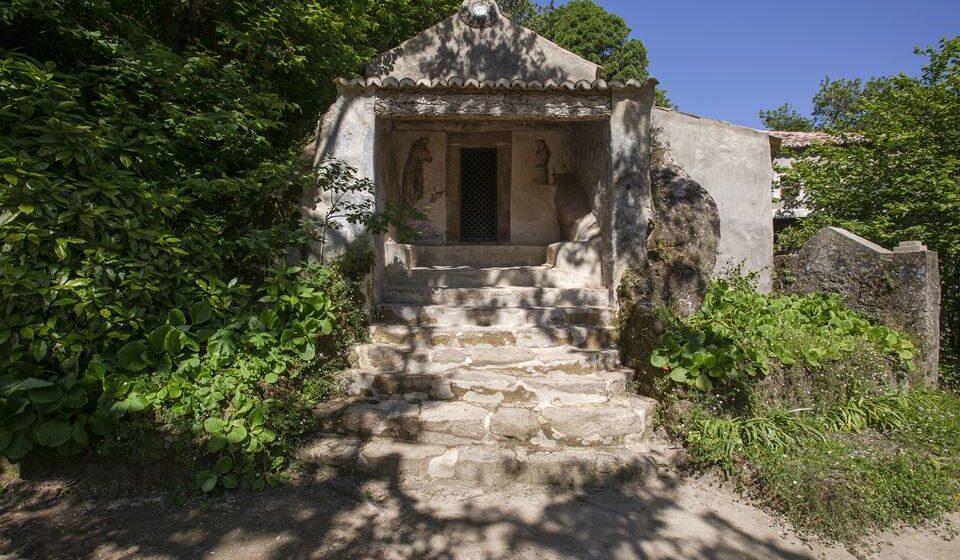 Convento dos Capuchos pos restauro_Capela do Senhor no Horto. Créditos PSML