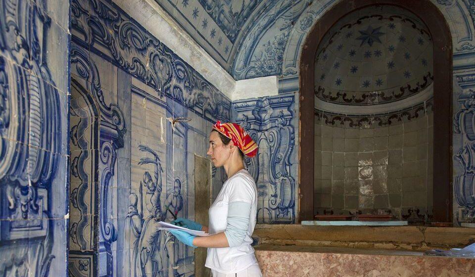 Convento dos Capuchos trabalhos de restauro. Créditos PSML
