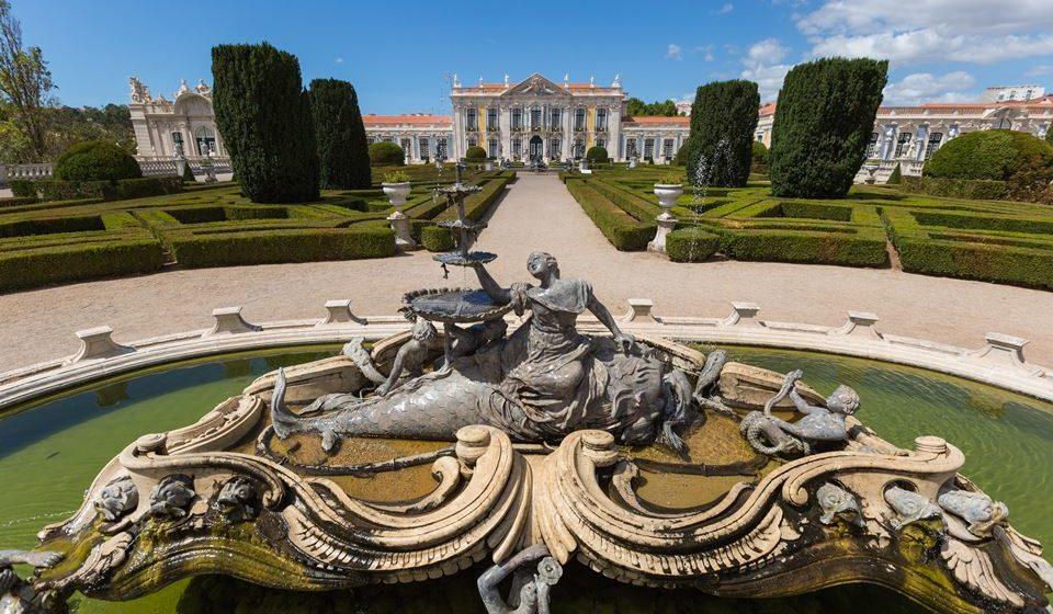 Palácio Nacional de Queluz - Largo de Nereide - ©PSML-Wilson Pereira