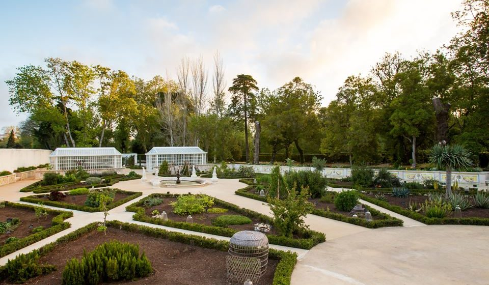 Palacio Nacional de Queluz - Jardim Botânico - ©PSML-Luis Duarte