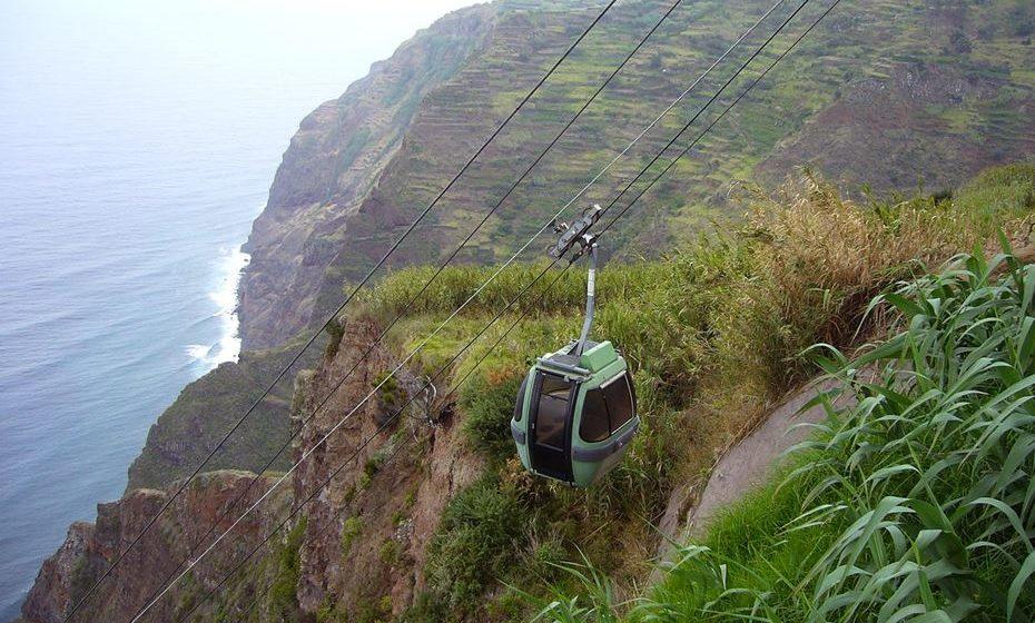 Teleférico das Achadas da Cruz. Foto: Wikimedia
