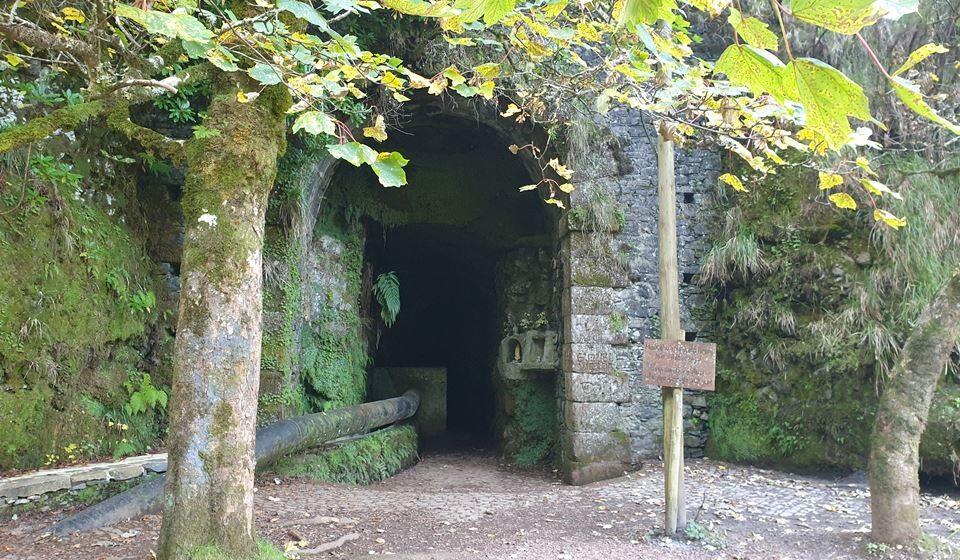 Túnel da Estrebaria, que liga a zona sul à zona norte da ilha