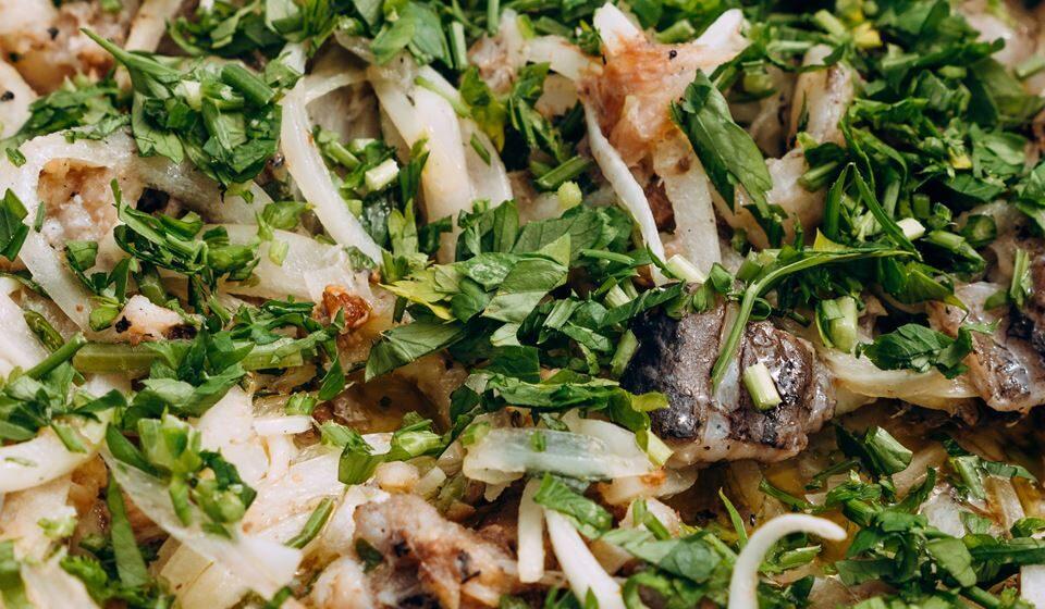 Escabeche de peixe espada