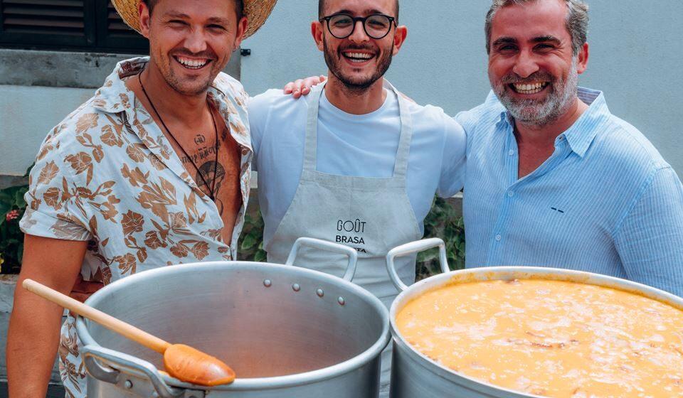 Fábio Abreu, Francisco Silva e Nuno Nobre. Foto: @kemp&kemp