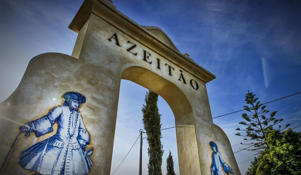Bem-vindos a Azeitão. Foto: Câmara Municipal de Setúbal.