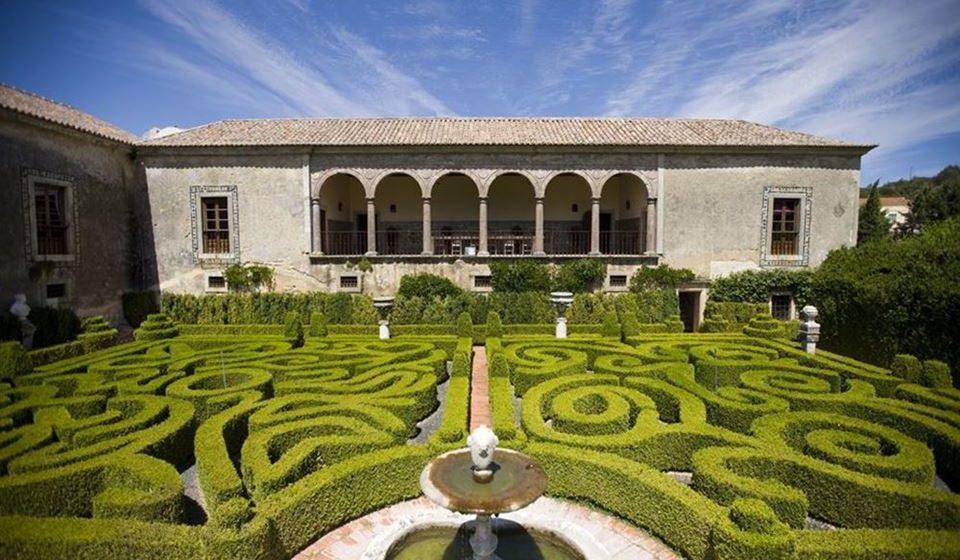 Jardim do Palácio da Bacalhoa. Foto: Bacalhoa