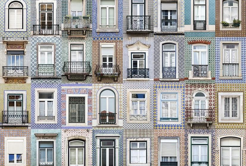 Na imagem, janelas de Lisboa.