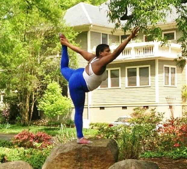 Jessamyn espera que a sua experiência inspire outras jovens com corpos maiores a praticarem a modalidade. A jovem explica que, além do peso, também a cor a distingue das restantes yogis, uma vez que a maior parte são jovens brancas e magras.