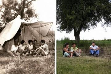 """O argentino Gustavo Germano reproduziu fotografias antigas de famílias atingidas pelas ditaduras militares da Argentina e do Brasil para o projeto """"Ausências"""""""
