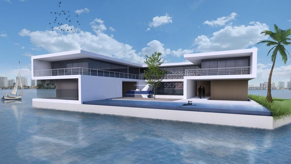 """O projeto é da empresa holandesa Dutch Docklands, fundada em 2005 por Paul H.T.M. van de Camp e Koen Olthuis. Este último é um famoso arquiteto holandês, nomeado pela revista """"Time"""" uma das pessoas mais influentes do mundo, é o responsável pelo design das ilhas. Como se sabe, os holandeses são especialistas em construção acima do nível do mar."""