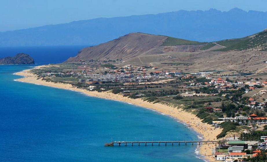 O artigo não esqueceu a maravilhosa praia do Porto Santo, na Madeira.