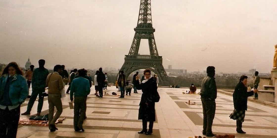 Numa visita a Paris, onde falou sobre o Dia dos Avós junto da comunidade portuguesa.