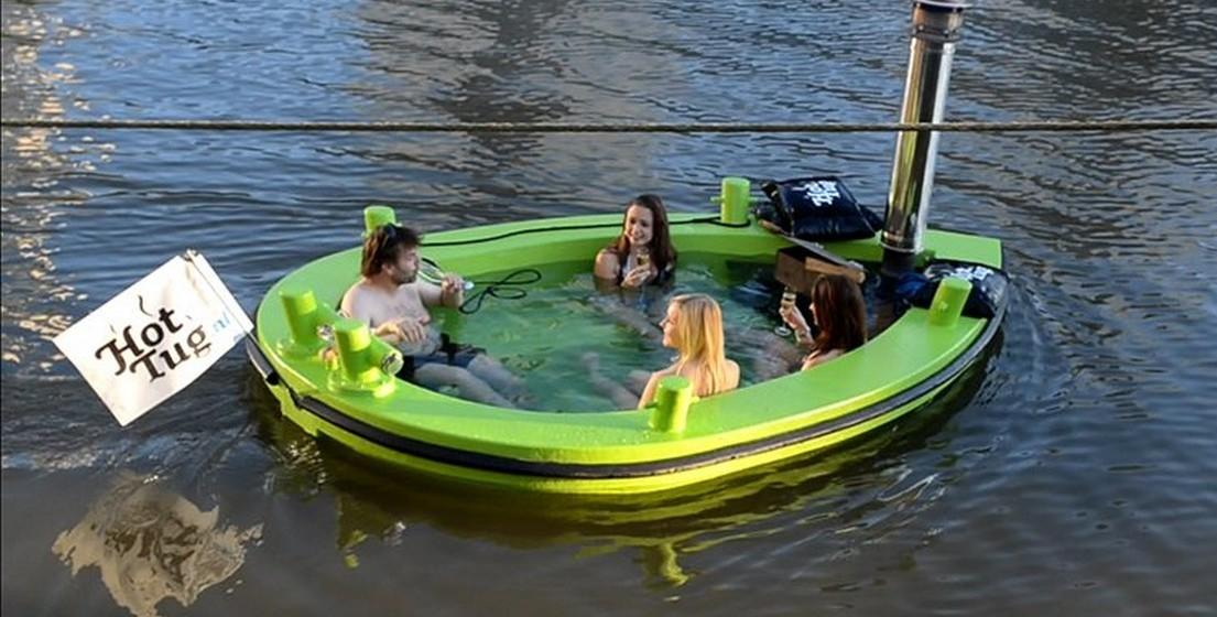 O holandês pretende expandir o negócio e garantir que há uma banheira quente em cada lugar onde esta faça sentido.