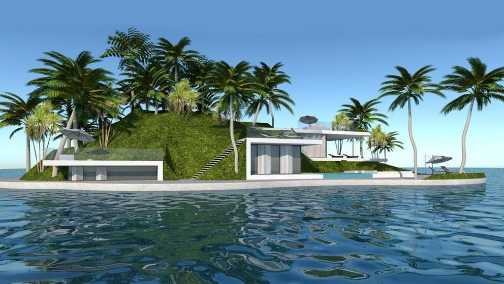 Miami: Um lago será o local que, em Miami, vai receber as primeiras ilhas Amillarah nos Estado Unidos. São 30 as ilhas que estão a ser colocadas à venda, com serviços como barcos privados e  mordomos. (Por Joana de Sousa Costa)